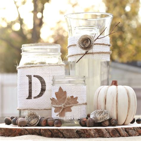 10 unique diy ideas for a fall wedding centerpieces