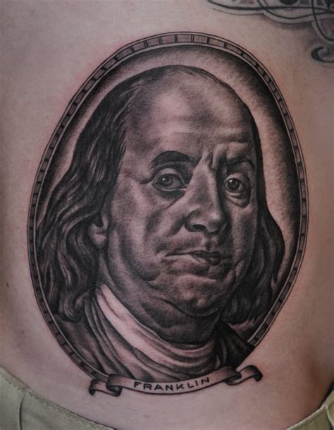 benjamin franklin tattoo rollin in the benjamins 6 awesome benjamin franklin