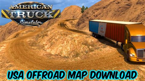map usa truck simulator usa offroad map v0 6 american truck simulator