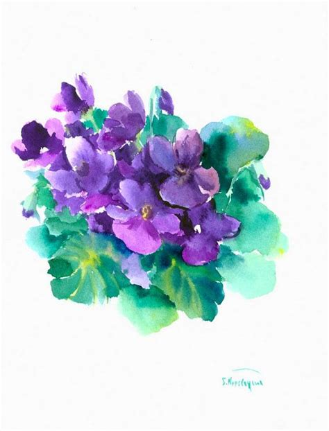 watercolor tattoo violets 234 best images about on ankle tattoos