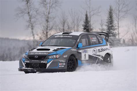 subaru rally race slide 2014 subaru wrx sti rally america race car