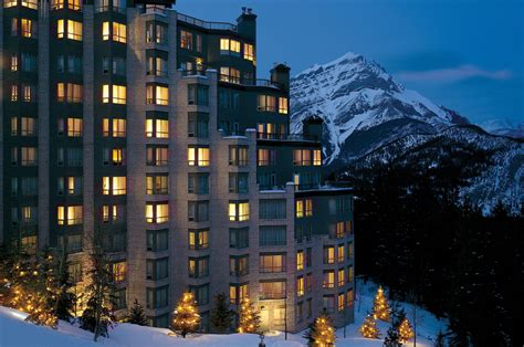 The National Bar And Dining Rooms by Hotel The Rimrock Resort Hotel Banff National Park