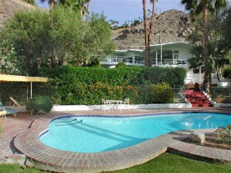howard palm house howard hughes mini estate for rent in palm springs