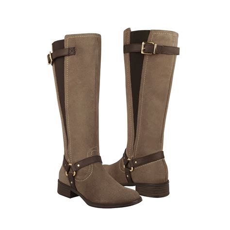 imagenes botas vaqueras para mujer botas h 237 picas flexi para dama gamuza musgo 15122 799
