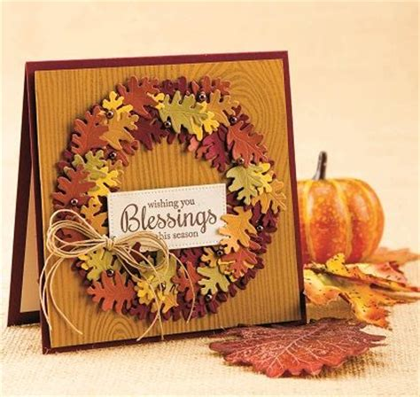 Handmade Thanksgiving Cards - thanksgiving wishes cardmaker