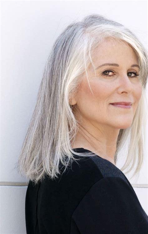 best shoo for gray hair for women 22 best makeup for silver grey hair images on pinterest