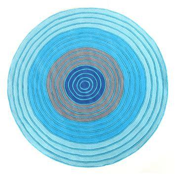 ripple rug blues dartboard ripple rug temple webster