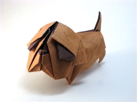 Origami Bulldog - origami dogs page 2 of 8 gilad s origami page