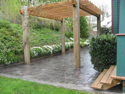 concrete backyard cost concrete patio cost and install information the concrete network