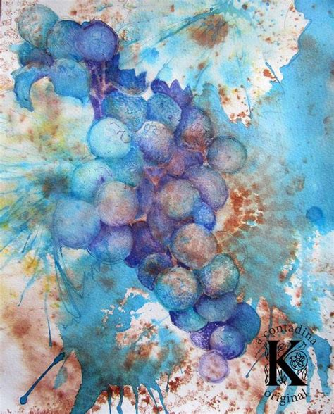 watercolor grapes tutorial 24 best images about contadinak on pinterest to say