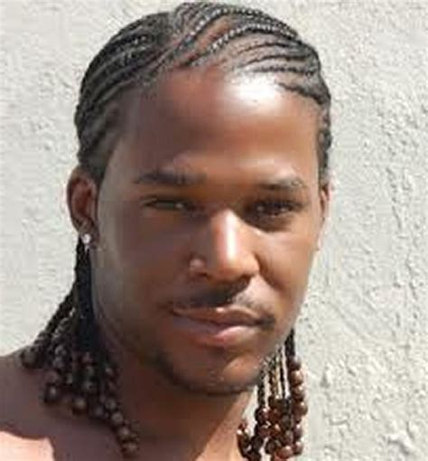 black men newest hair braids pic braids cornrows hairstyle black men with hair ascesories
