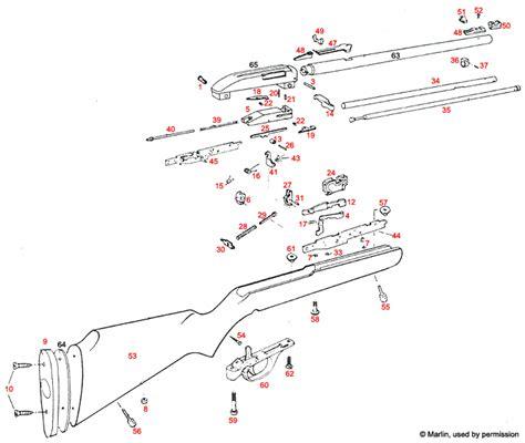 marlin glenfield model 60 parts diagram marlin model 60 disassembly