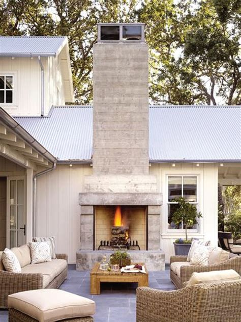 on trend outdoor fireplaces akin design studio