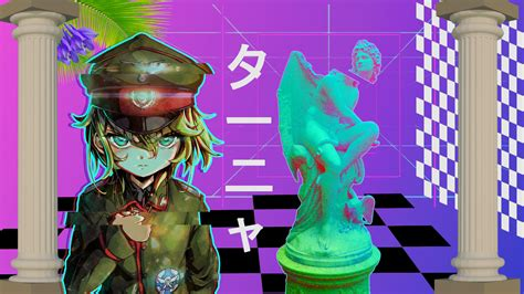 Anime Vaporwave by My Anime Vaporwave Wallpaper 14 By Iamthebest052 On