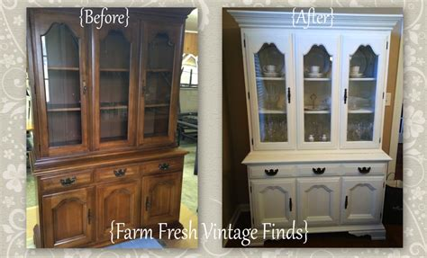 You And I Hutch Sloan White Painted Hutch Farm Fresh Vintage Finds