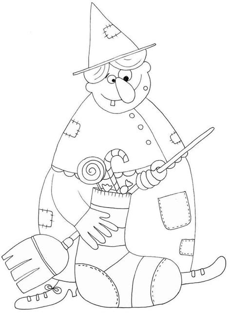 la befana coloring page coloring home