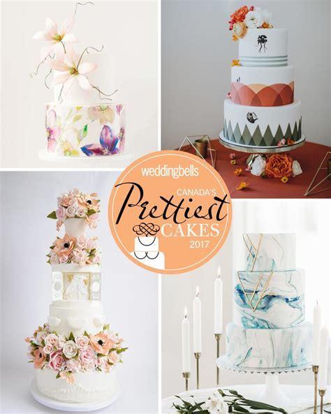 Canada's Prettiest Wedding Cakes For 2017   Weddingbells