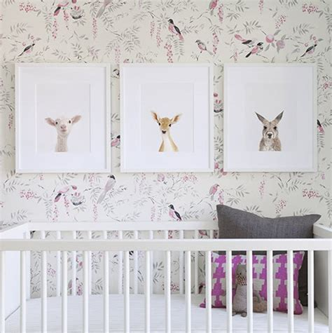 nursery room ideas the animal print shop simplified bee