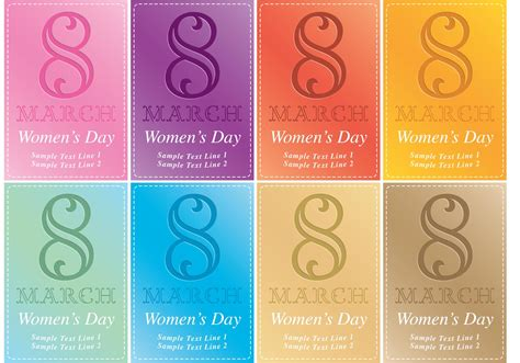 design an invitation card for women s day women s day card vector invitations download free vector