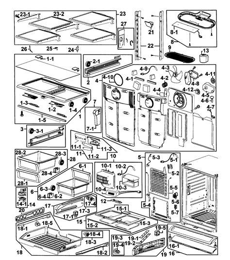 samsung refrigerator parts model rf266aepnxaa0001 sears partsdirect