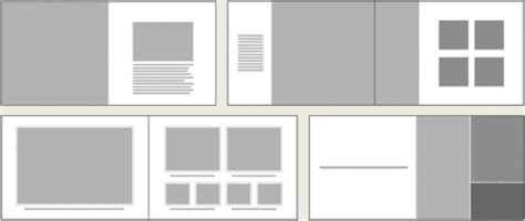 grid layout for portfolio more exles of book layout design