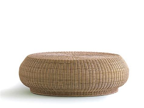 Woven Coffee Table Low Woven Wicker Coffee Table Bolla 15 Bolla Collection By Gervasoni Design Michael Sodeau