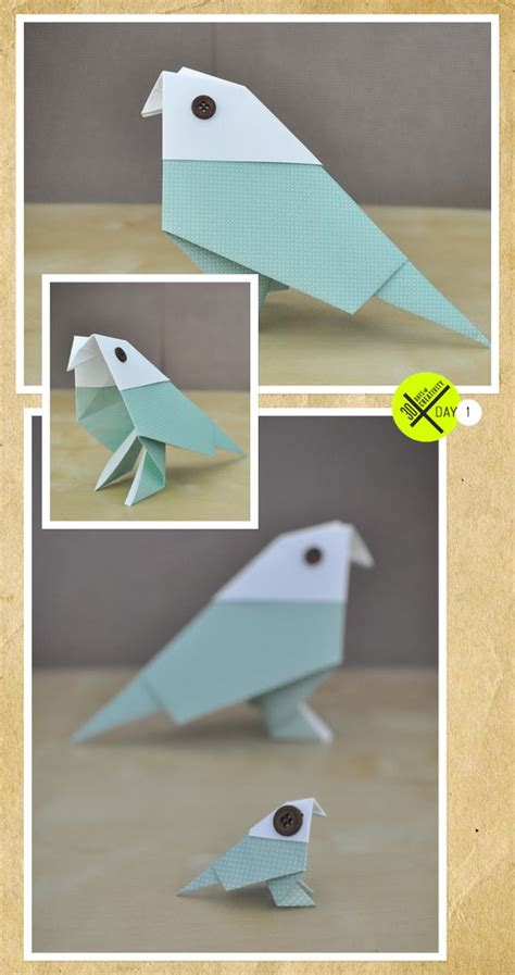 Paper Folding Challenge - kicked the 30 days of creativity challenge with an
