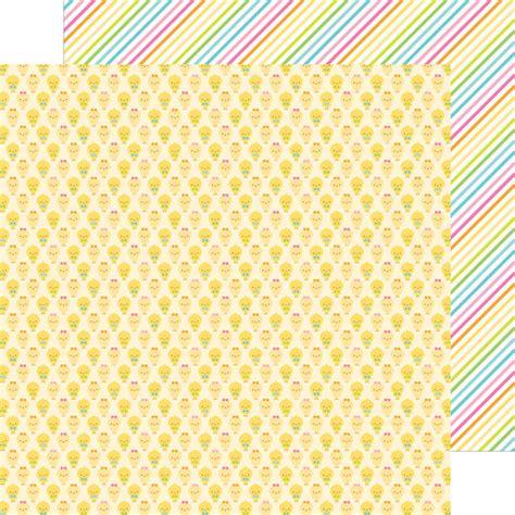 doodlebug paper doodlebug design easter parade chickie babies paper
