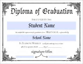 Free Printable High School Diploma Templates by Donna S Printable High School Diploma This Will