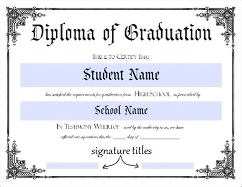 ged diploma template printable homeschool diploma template pictures to pin on