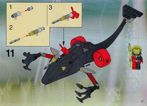lego orca boat instructions lego ogel mutant killer whale instructions 4797 alpha team
