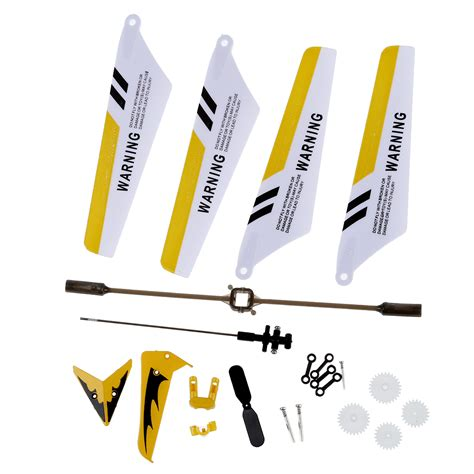 Set Parts Blade set replacement parts for syma s107 rc helicopter blades shaft bf ebay