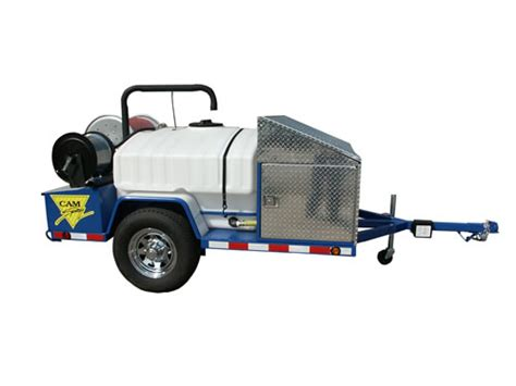 Plumbing Jetter by Spray Trailer Mounted Gas Powered Sewer And Drain