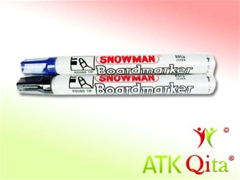 Snowman Spidol Papan Tulis Merah spidol white board snowman bg12