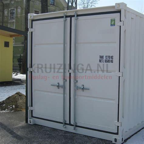 supplements 2 door container supplement 2 part folding door at front side