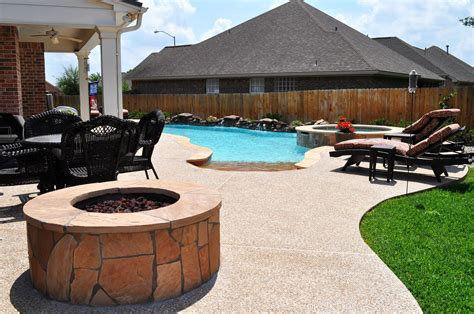 College Pits outdoor living photos bryan college station pool builder