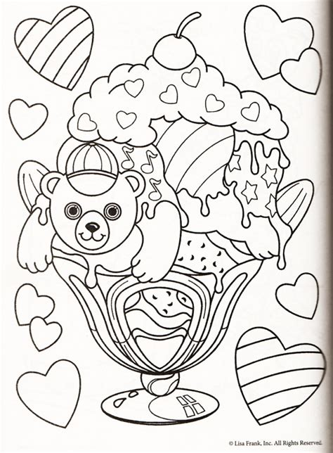angel kitty coloring pages angel kitty lisa frank color pages coloring for