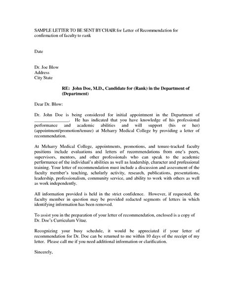Letter Of Recommendation Or Letter Of Support letters of recommendation for promotion cover letter exle