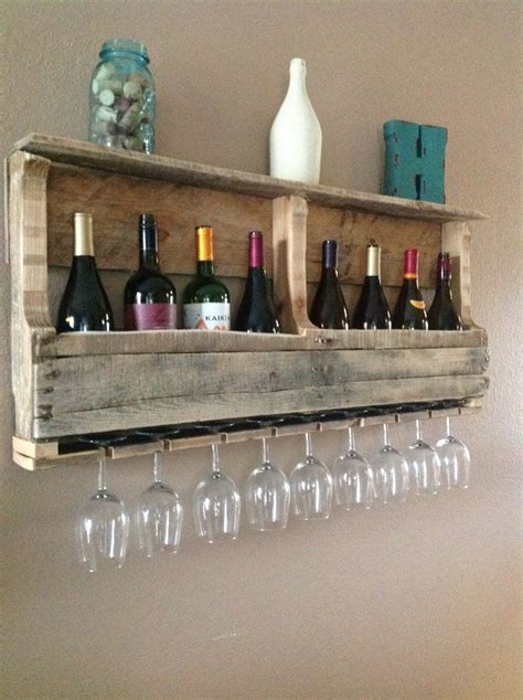 Shelf With Wine Glass Rack by Clever Ways Of Adding Wine Glass Racks To Your Home S D 233 Cor