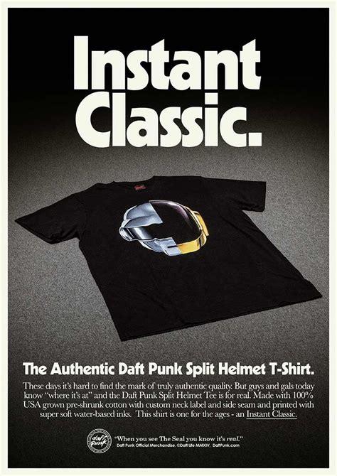t shirt design magazine daft punk unveil brand new line of awesome merchandise