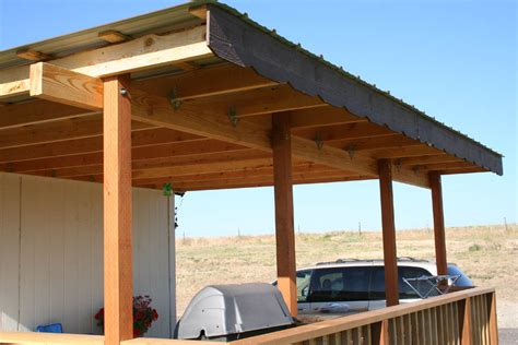 Building a deck cover   Deck design and Ideas