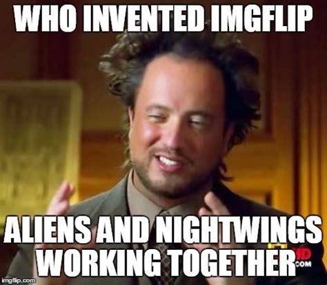 Who Invented Memes - if you know what a nightwing is upvote like comment on it imgflip