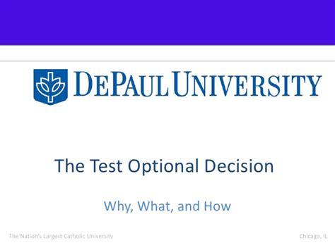 Depaul Mba Program Application Deadlines by Essay For Admission To