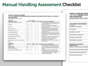 Moving And Handling Certificate Templates by U S Rivers Risk Assessment Of Manual Handling Business
