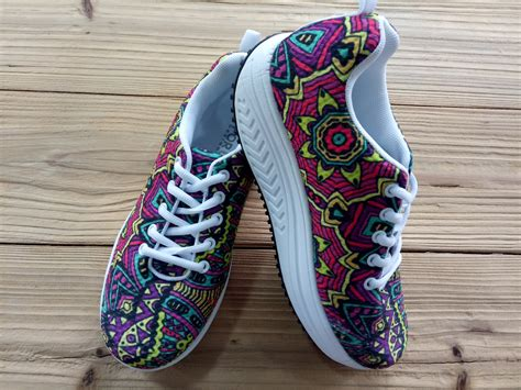 womens high platform shoes sneakers funky shape up