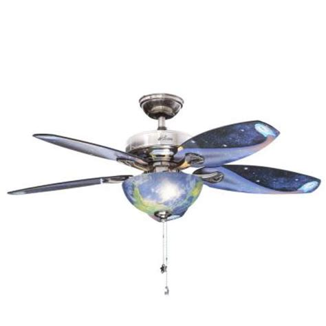 home depot ceiling fans sale hunter discovery 48 in indoor brushed nickel ceiling fan