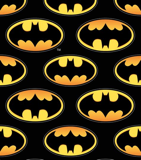 batman wallpaper material batman logo unidirectional design fleece fabric jo ann