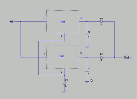 diodes in parallel problems my circuit is leaking voltage what diodes methods can i use to fix this problem electrical