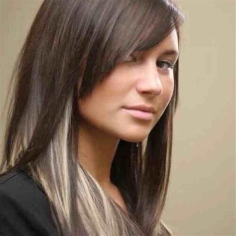 hairstyles with dark underneath pictures 50 charming brown hair with blonde highlights suggestions