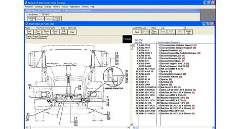 kenworth spare parts kenworth parts catalogue